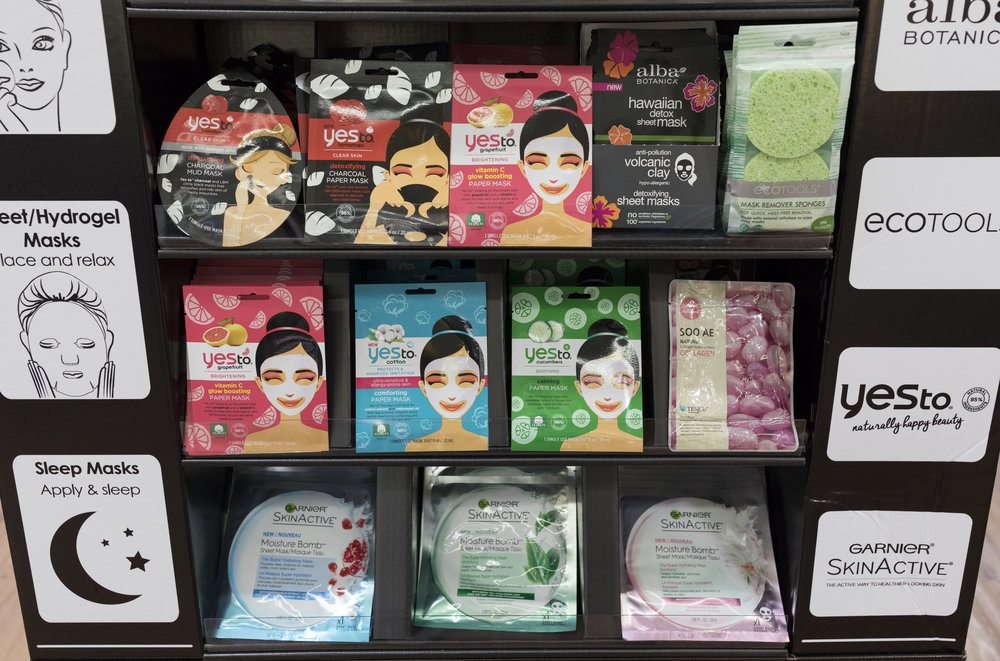Walmart Fall Beauty Preview x Krity S x Face Masks