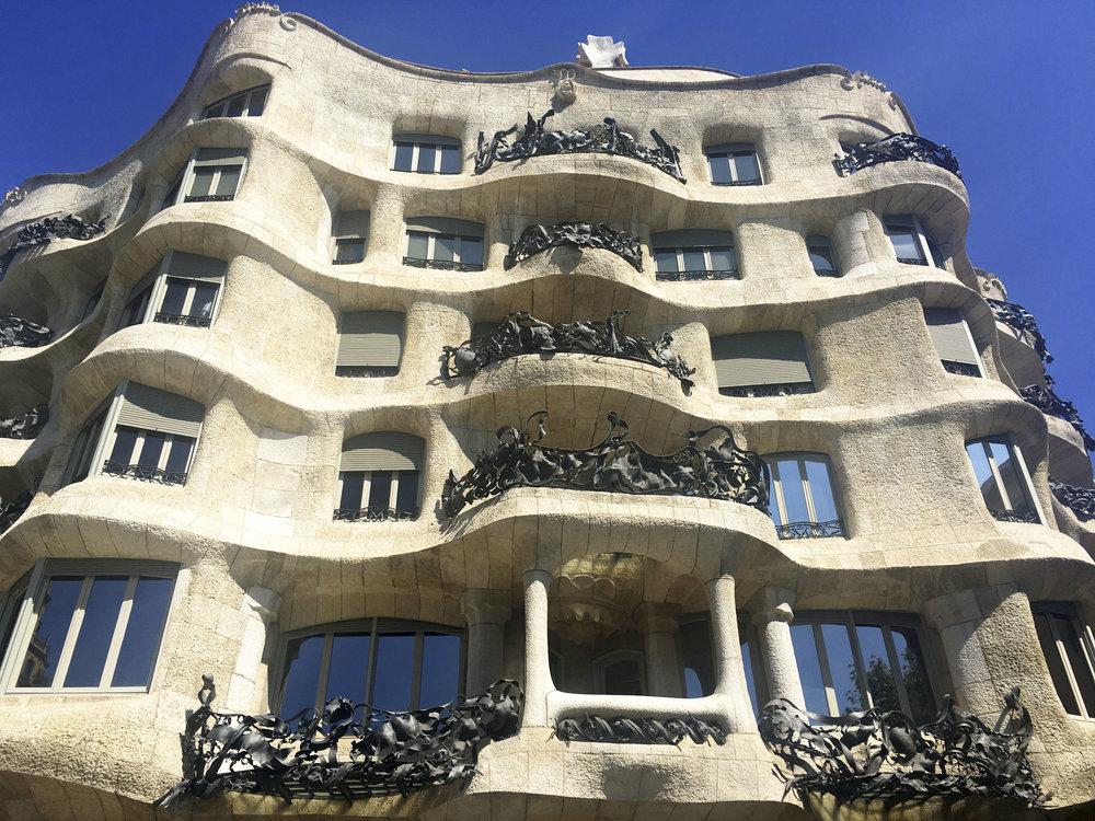 Krity S Travel Barcelona Gaudi