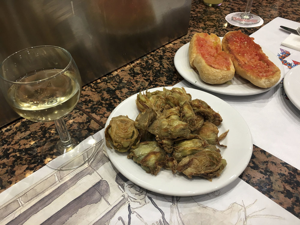 Krity S Travel Barcelona Spain Food