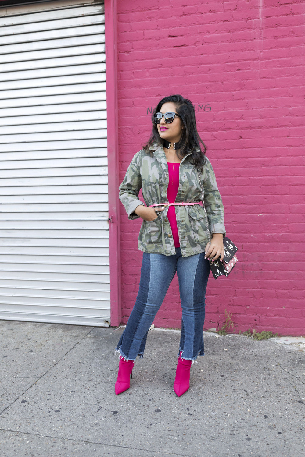 Krity S x Pink Sock Boots x Casual Look 1.jpg