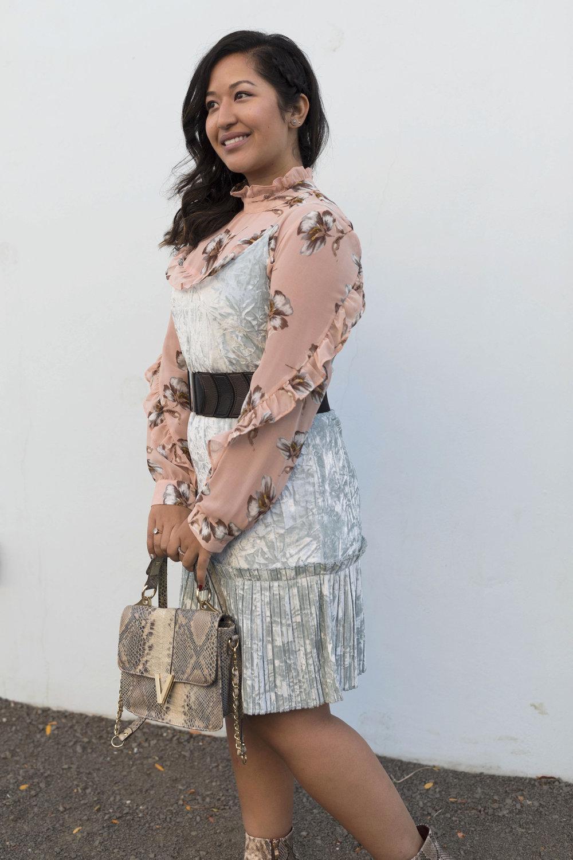 Velvet Dress Krity S