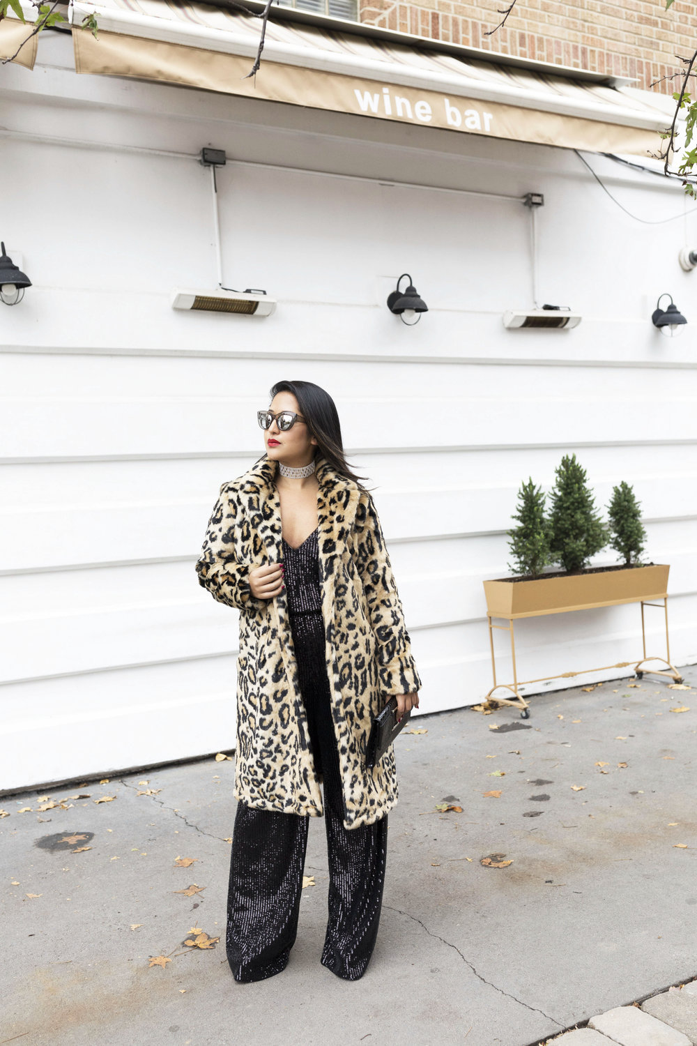 Krity S x New Years Eve Outfit x Sequin Jumpsuit and Cheetah Faux Fur1.jpg