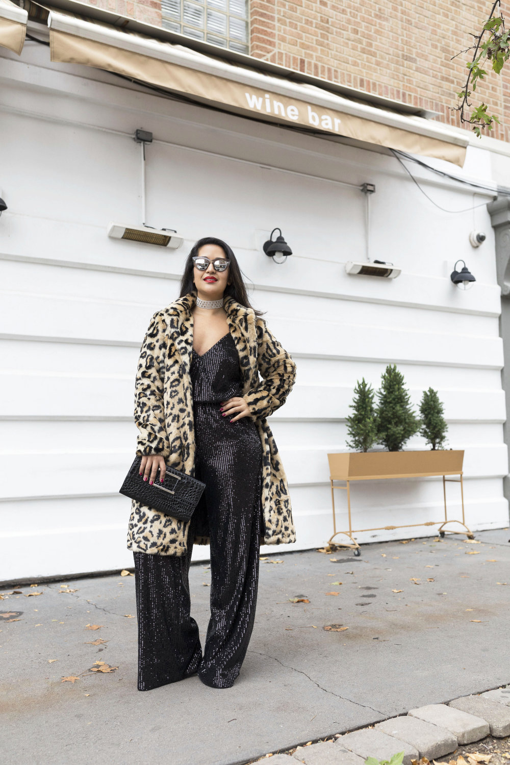 Krity S x New Years Eve Outfit x Sequin Jumpsuit and Cheetah Faux Fur3.jpg