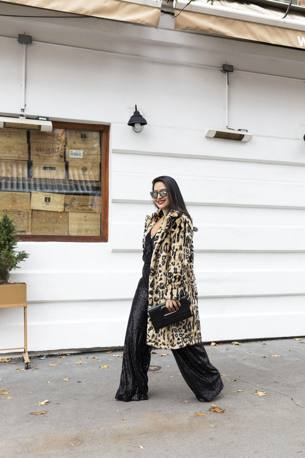 Krity S x New Years Eve Outfit x Sequin Jumpsuit and Cheetah Faux Fur7.jpg