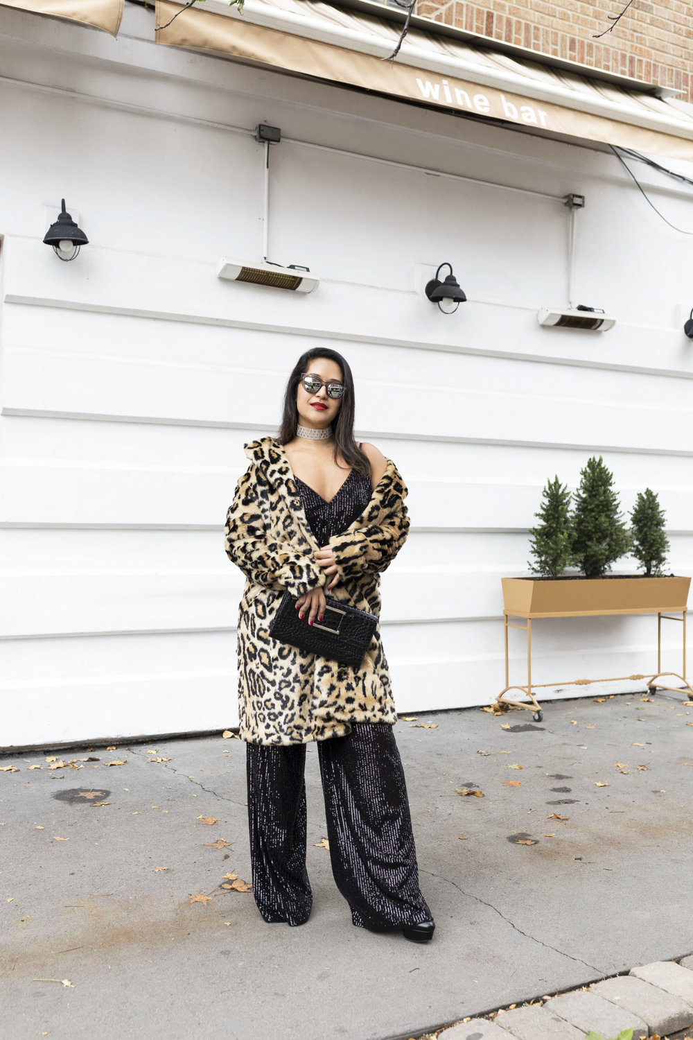 Krity S x New Years Eve Outfit x Sequin Jumpsuit and Cheetah Faux Fur9.jpg