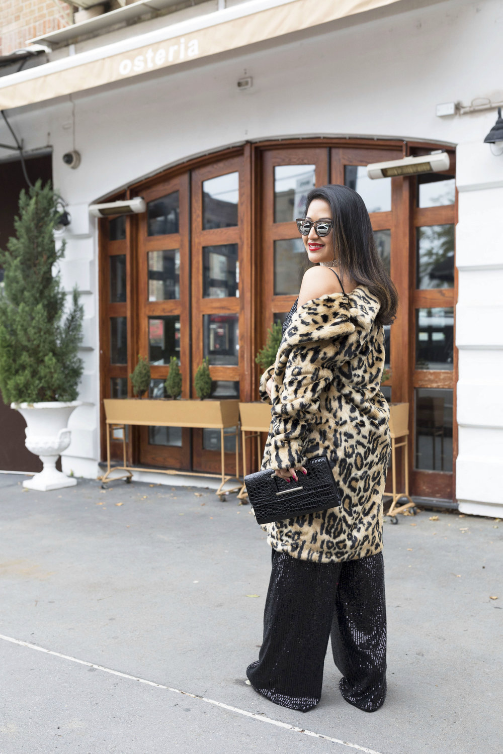Krity S x New Years Eve Outfit x Sequin Jumpsuit and Cheetah Faux Fur10.jpg