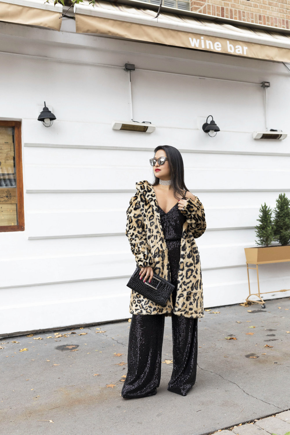 Krity S x New Years Eve Outfit x Sequin Jumpsuit and Cheetah Faux Fur8.jpg