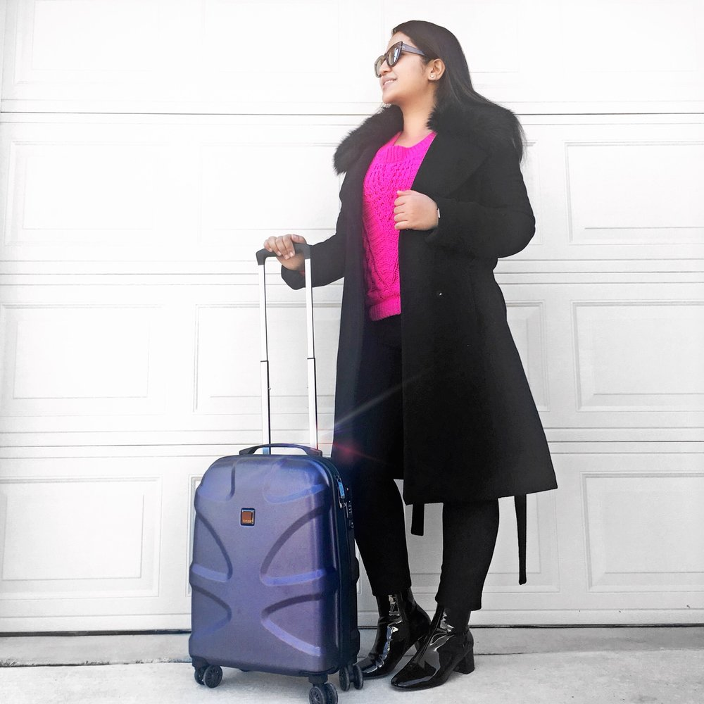 Krity S Travel Dallas Texas Travel Suitcase