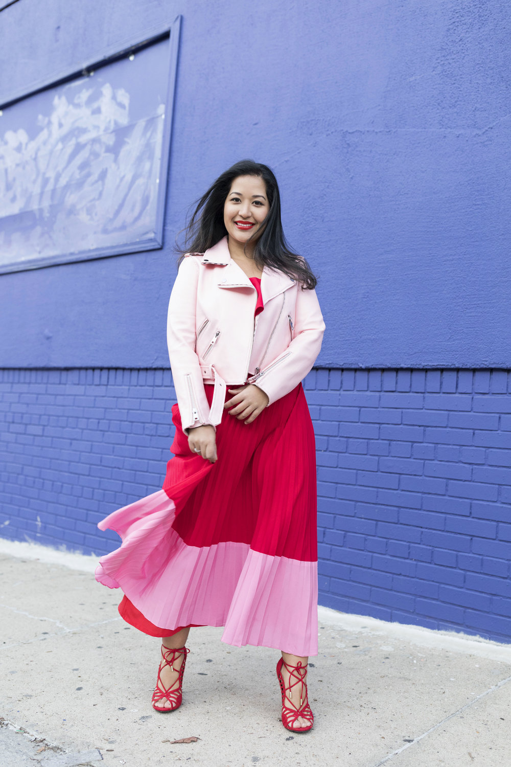 Krity S x Two Tone Red Pink Aidan Dress x Valentine's Day4.jpg