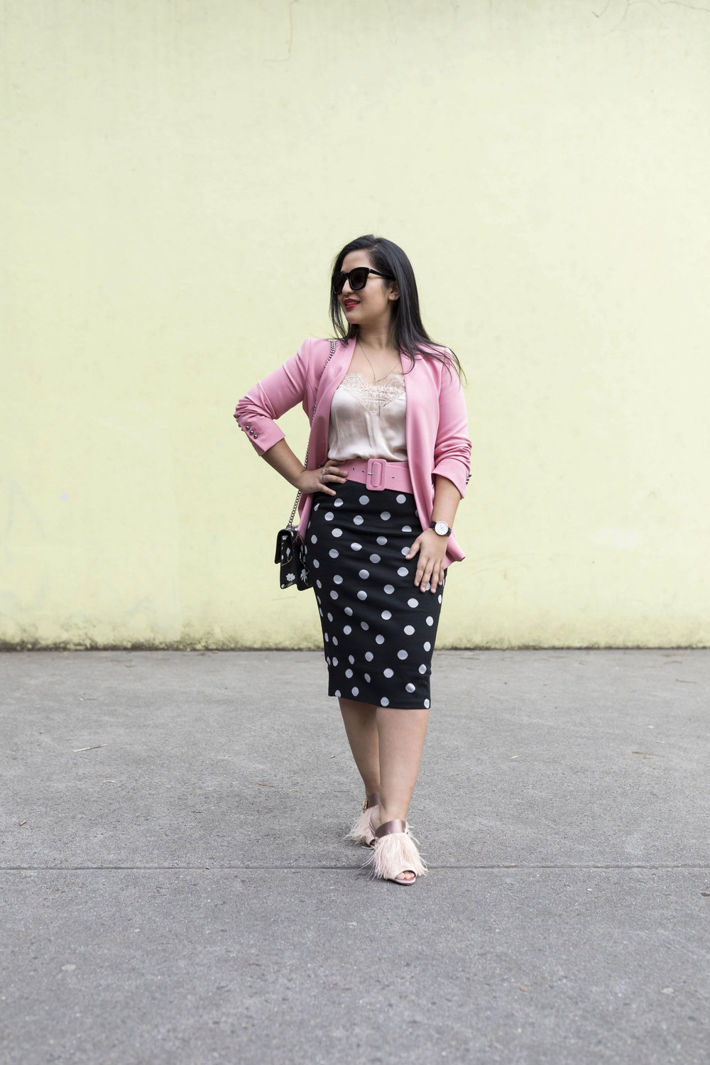 Krity S x Polka Dot and Pink Work Outfit3.jpg