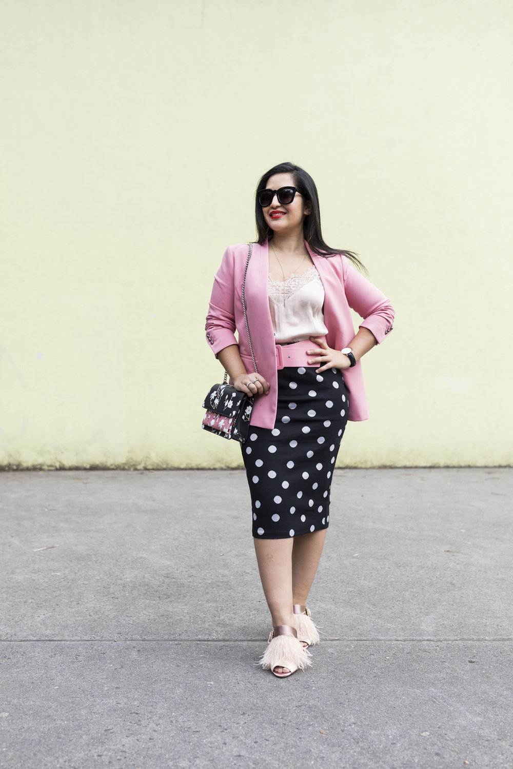 Krity S x Polka Dot and Pink Work Outfit1.jpg