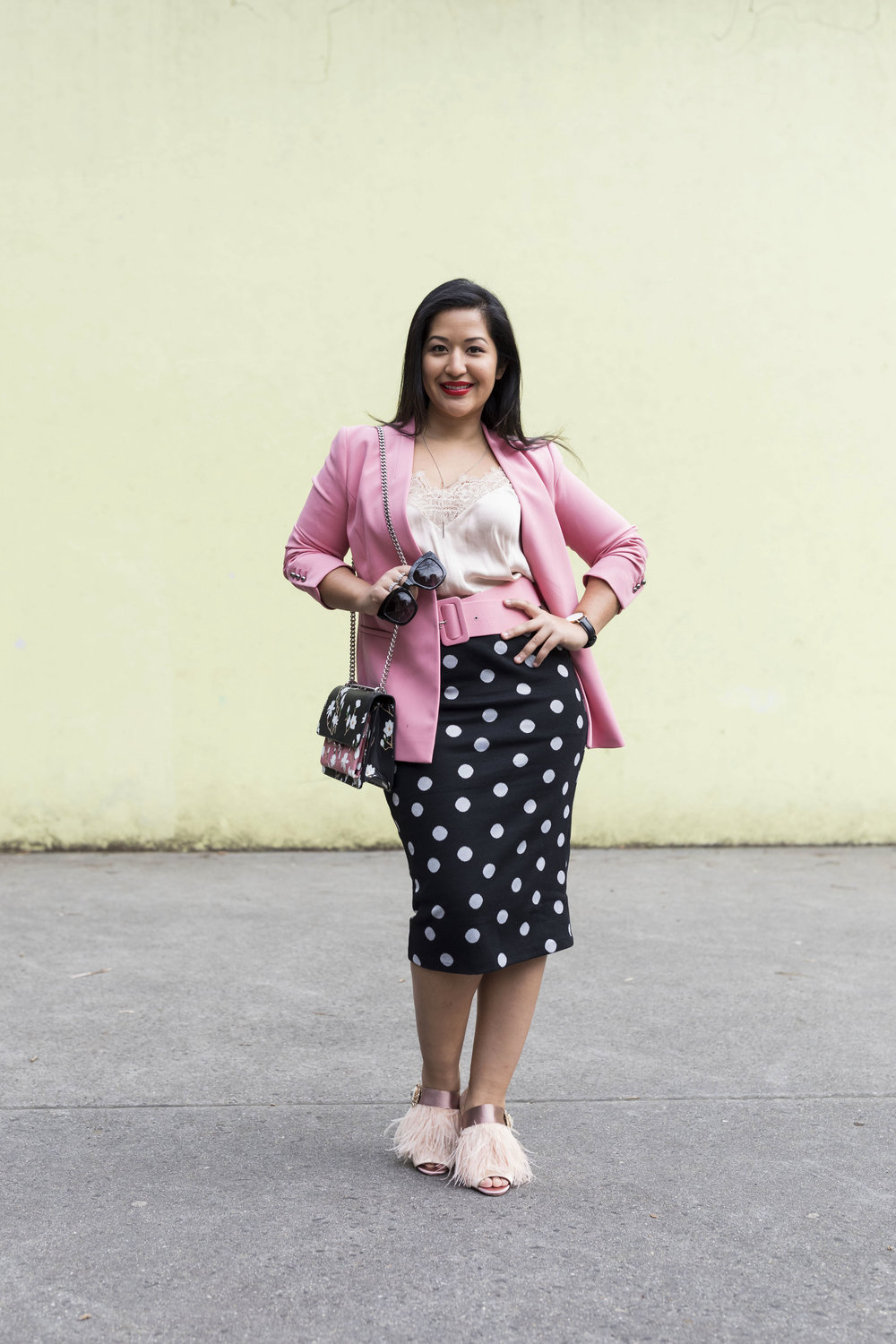 Krity S x Polka Dot and Pink Work Outfit4.jpg