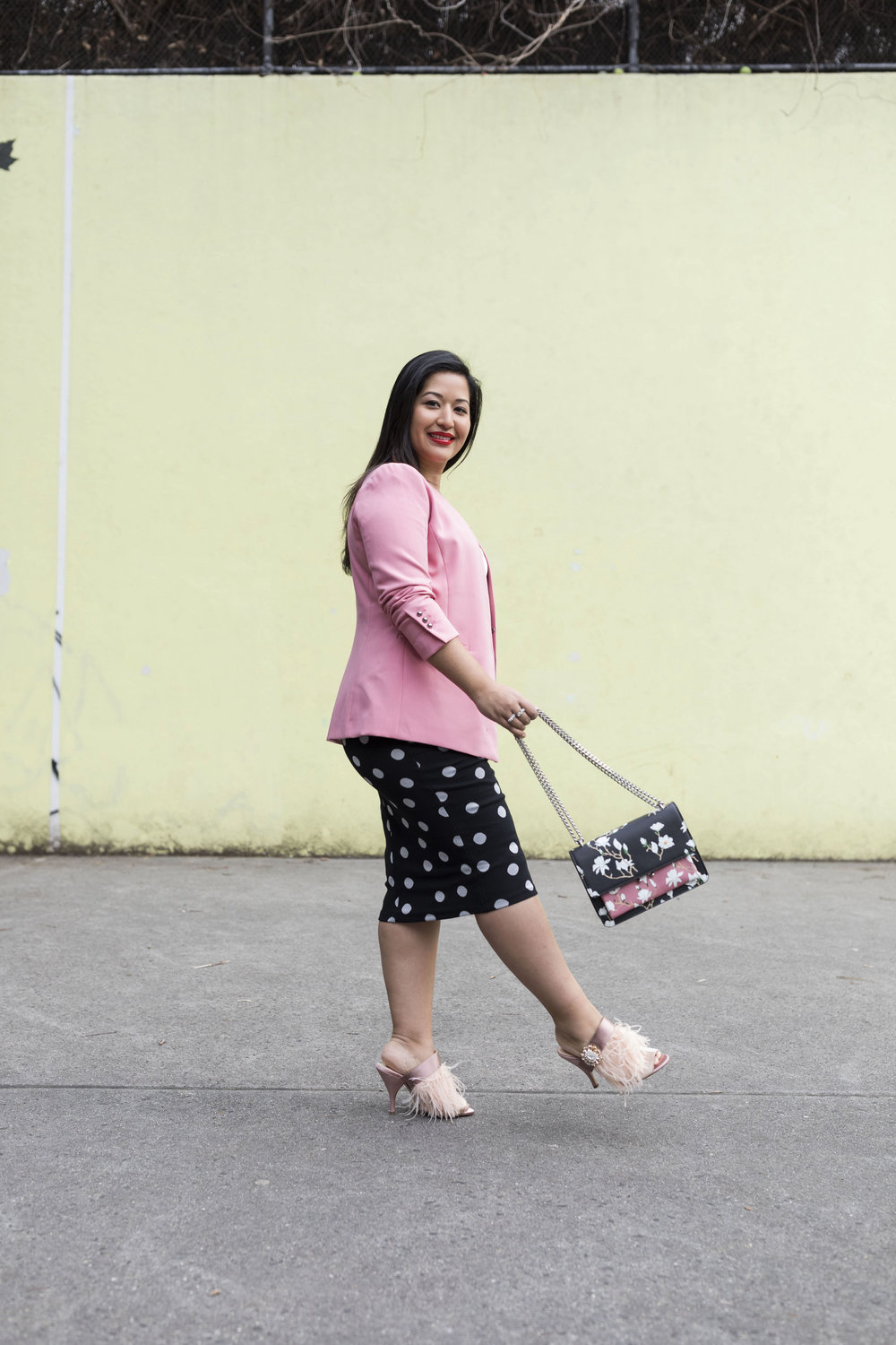 Krity S x Polka Dot and Pink Work Outfit5.jpg