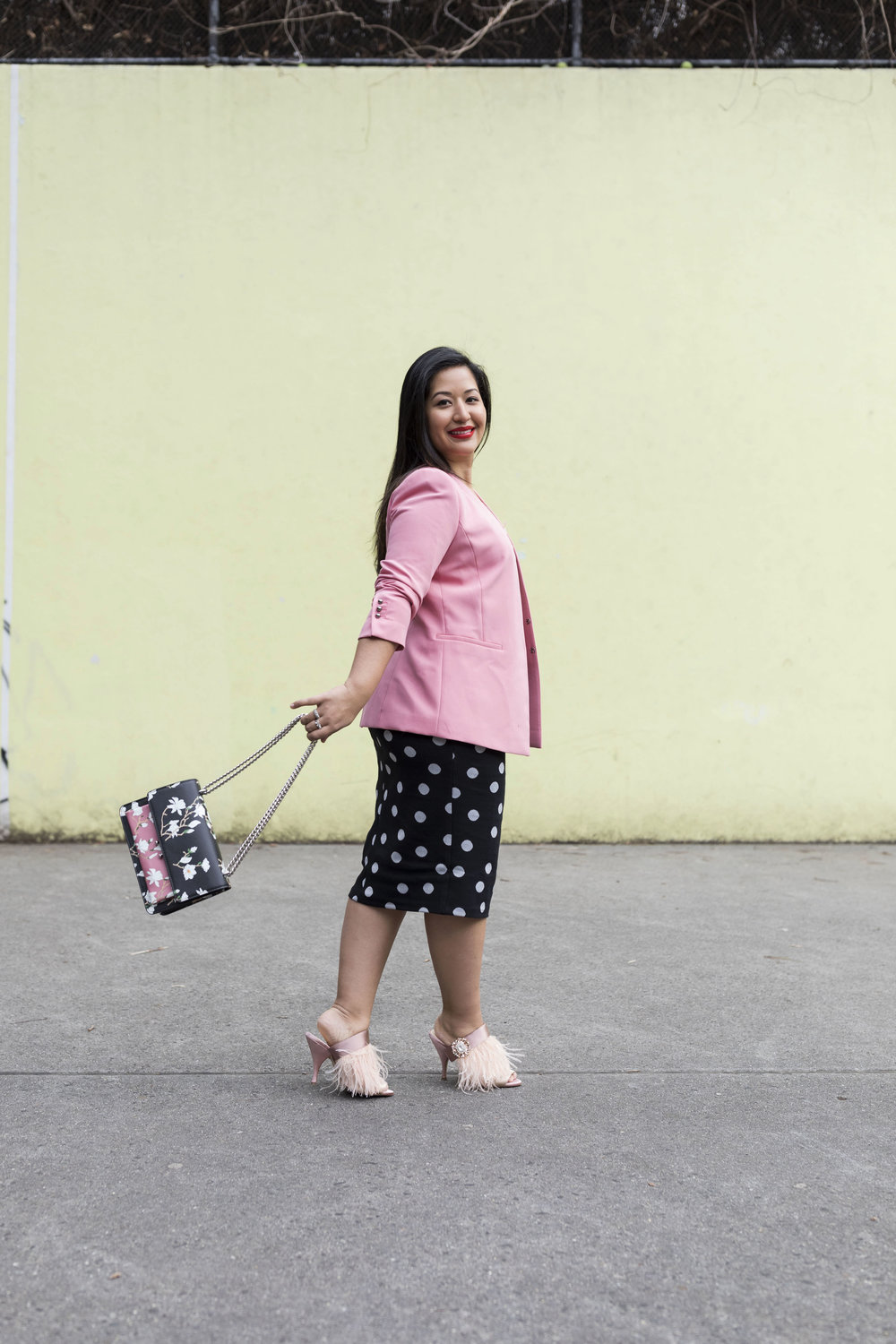 Krity S x Polka Dot and Pink Work Outfit6.jpg