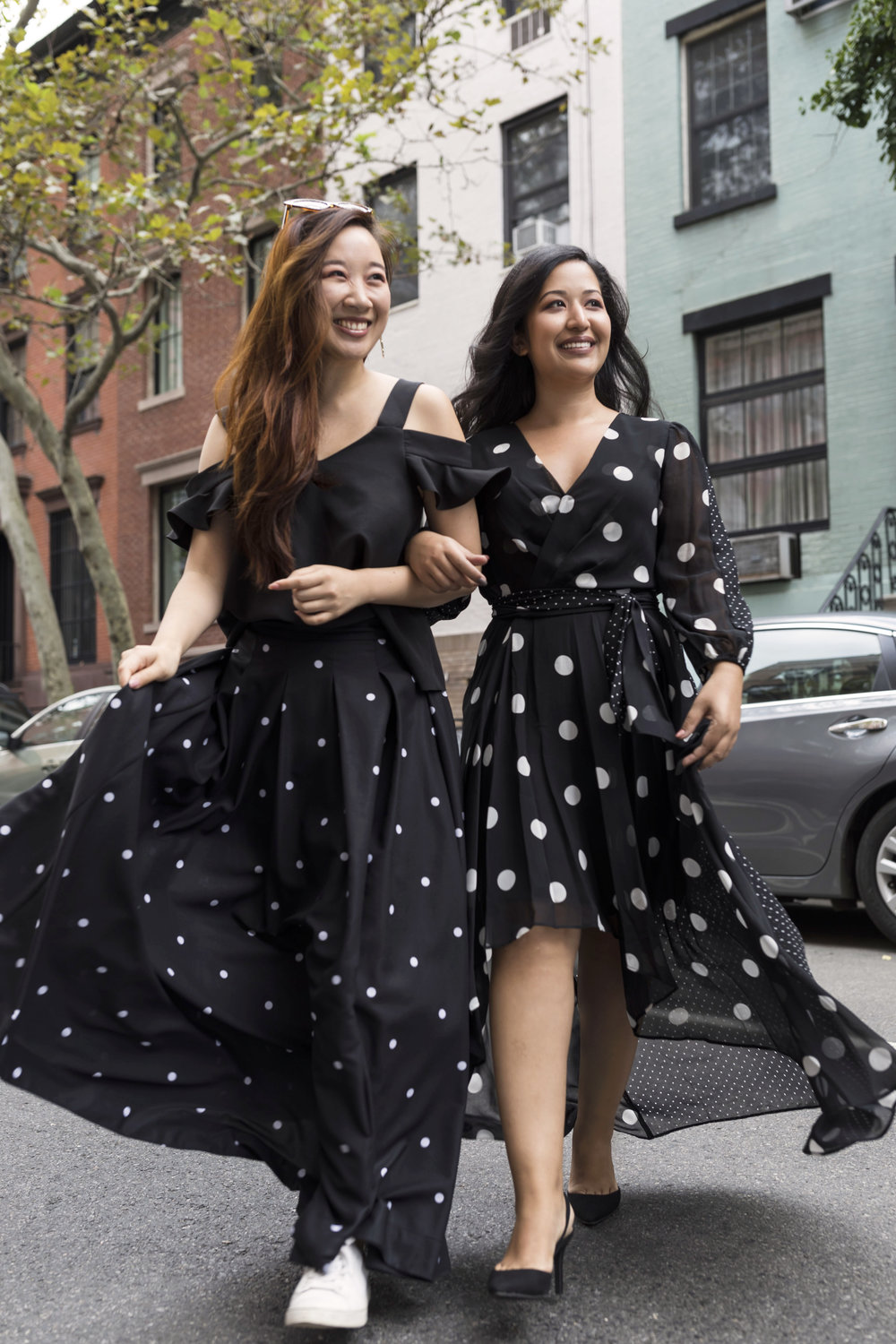 Krity S Fall Trends Polka Dot Dress