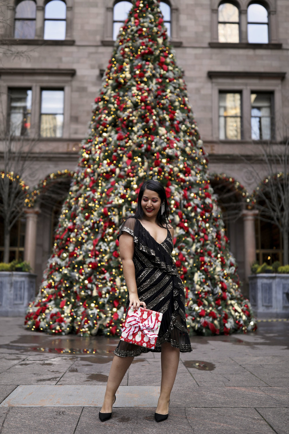 Krity S x Christmas Outfit x Beaded Short Dress10.jpg