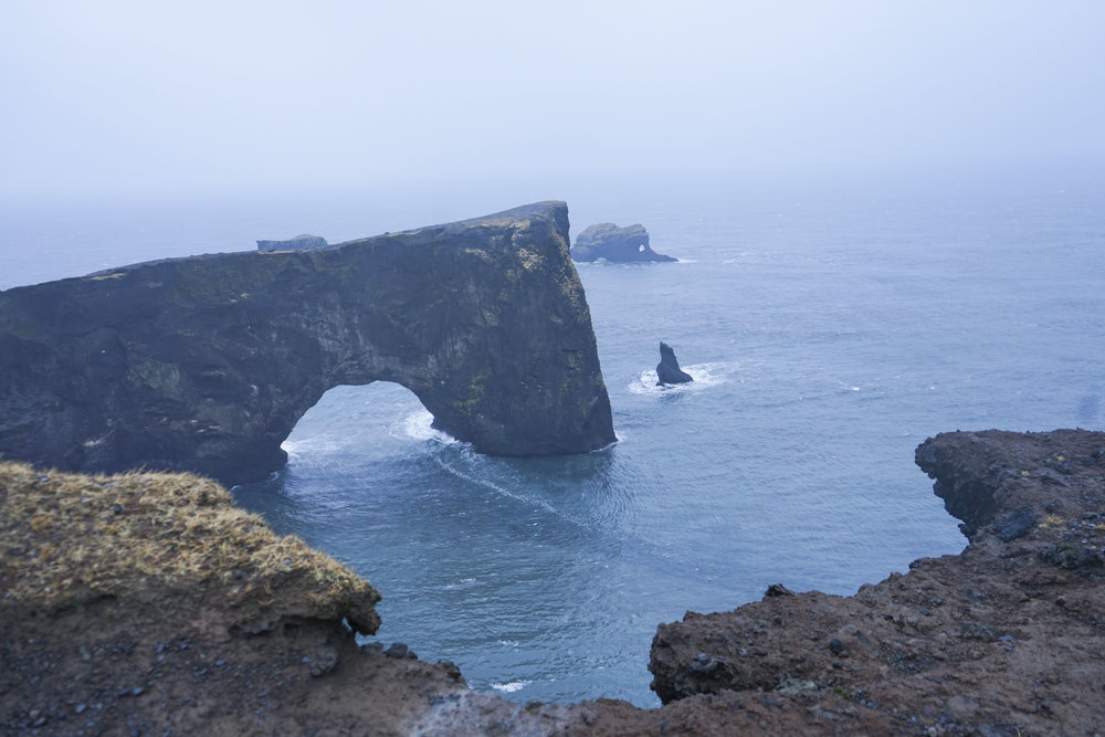 Dyrhólaey Iceland View of the Arc