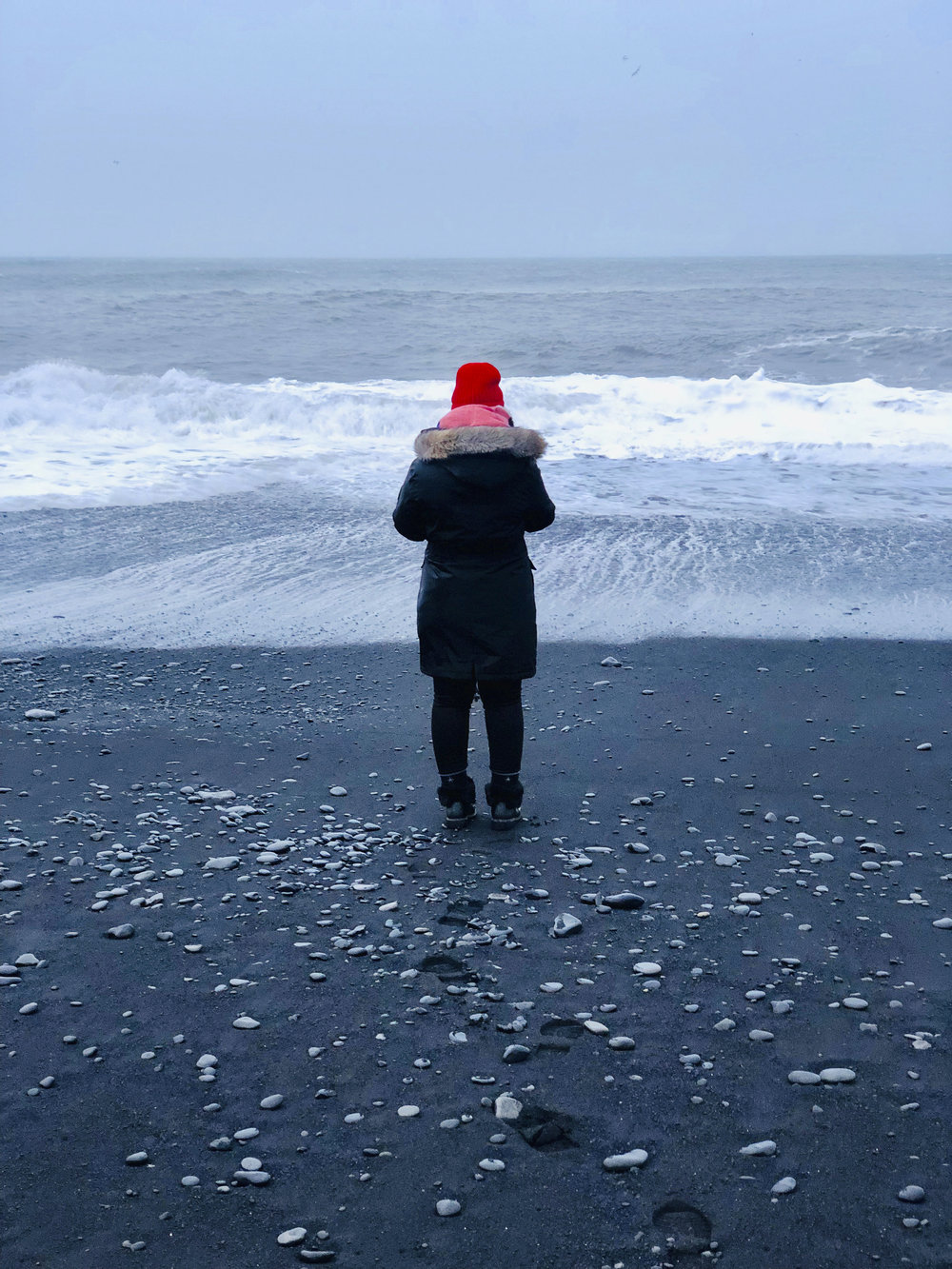 Reynisfjara Beach black sand beaches in Iceland