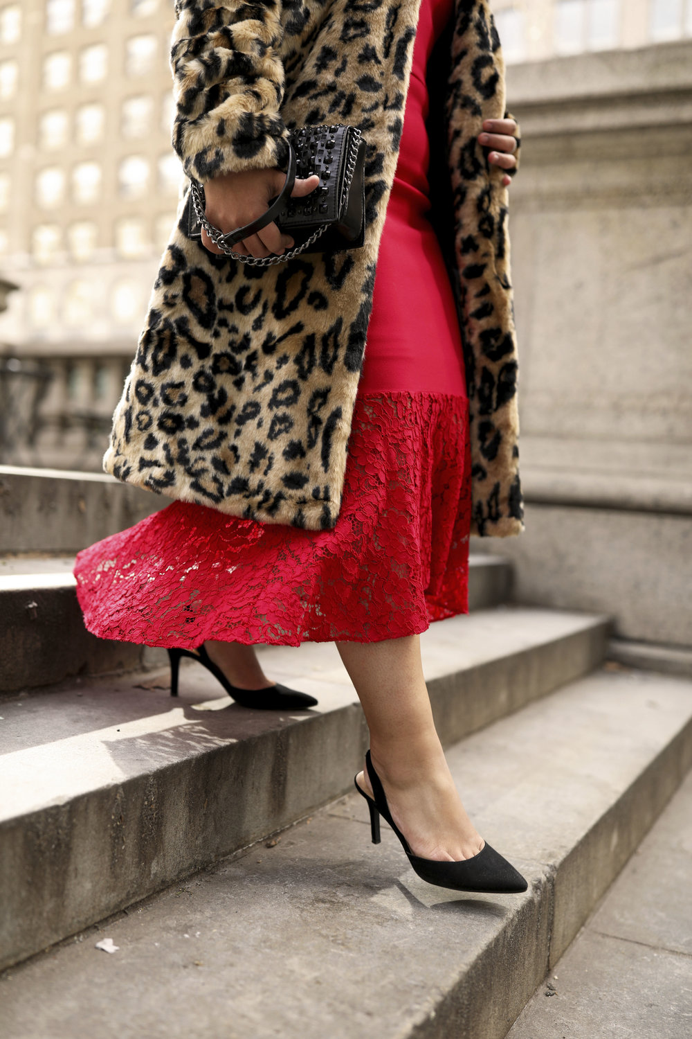 Make an entrance - with a red dress…