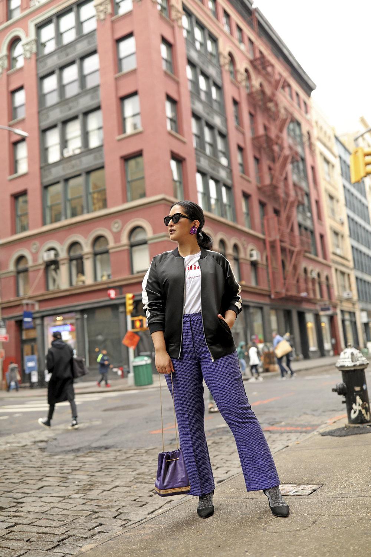 Purple Pants Casual Suit Look Bomber Jacket_1.jpg