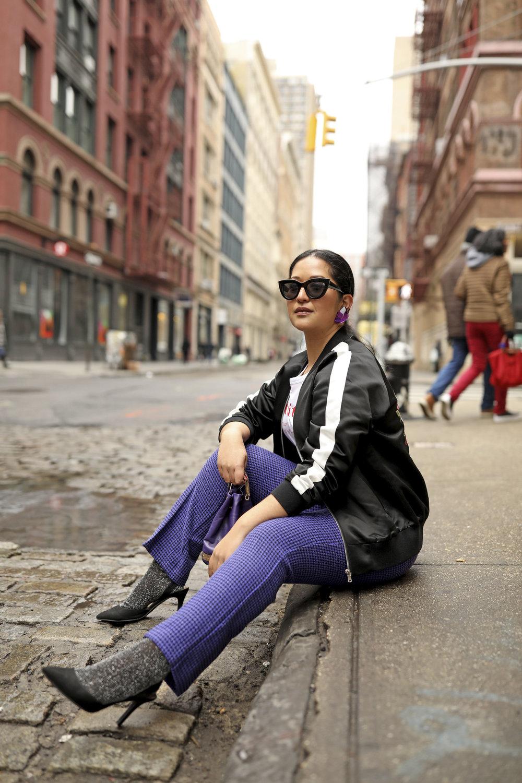 Purple Pants Casual Suit Look Bomber Jacket_8.jpg