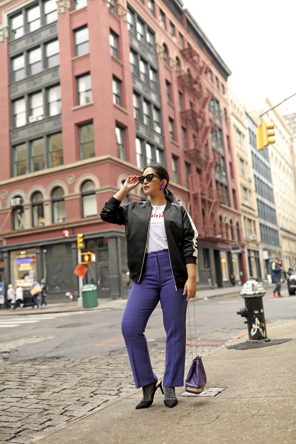 Purple Pants Casual Suit Look Bomber Jacket_2.jpg