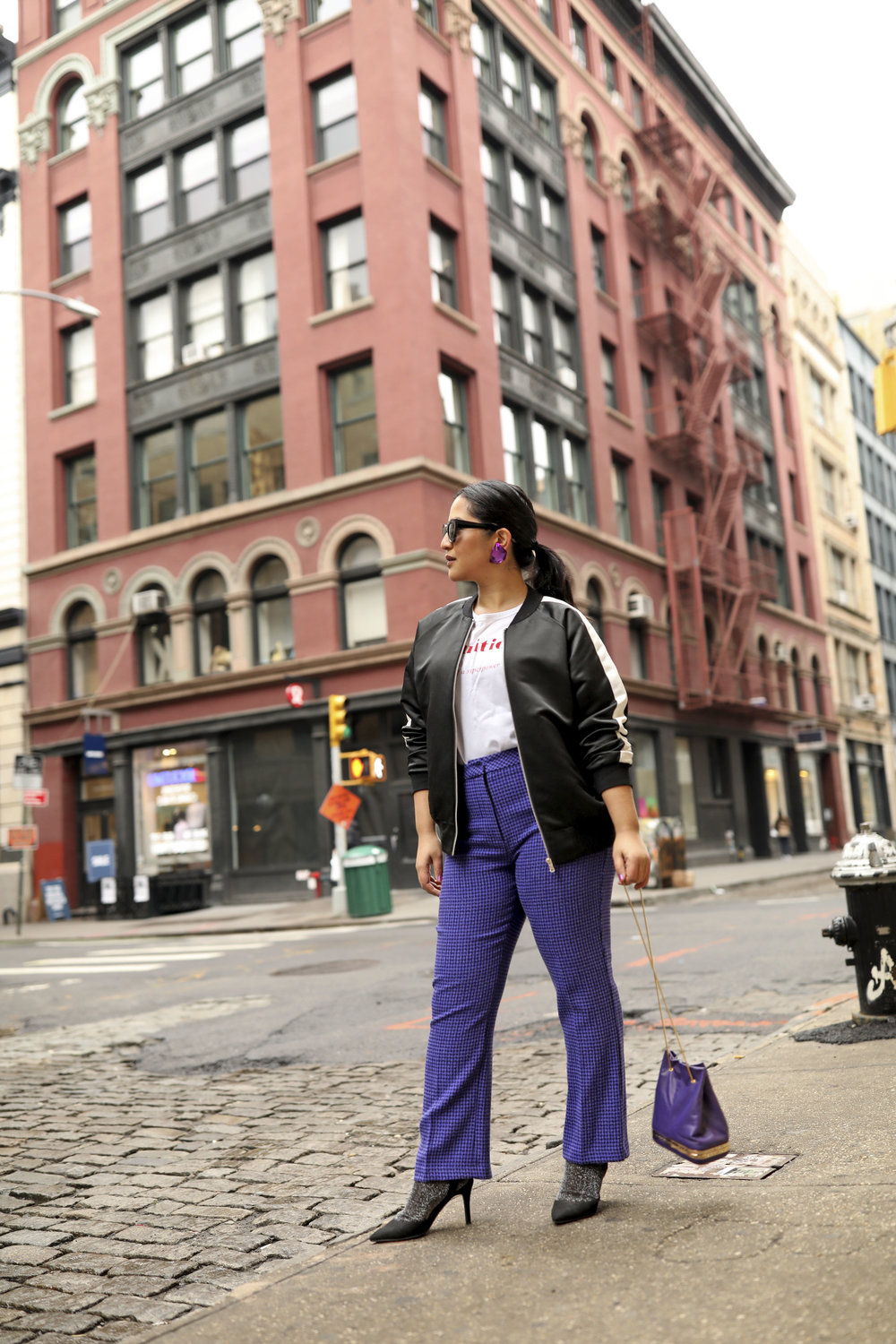 Purple Pants Casual Suit Look Bomber Jacket_4.jpg