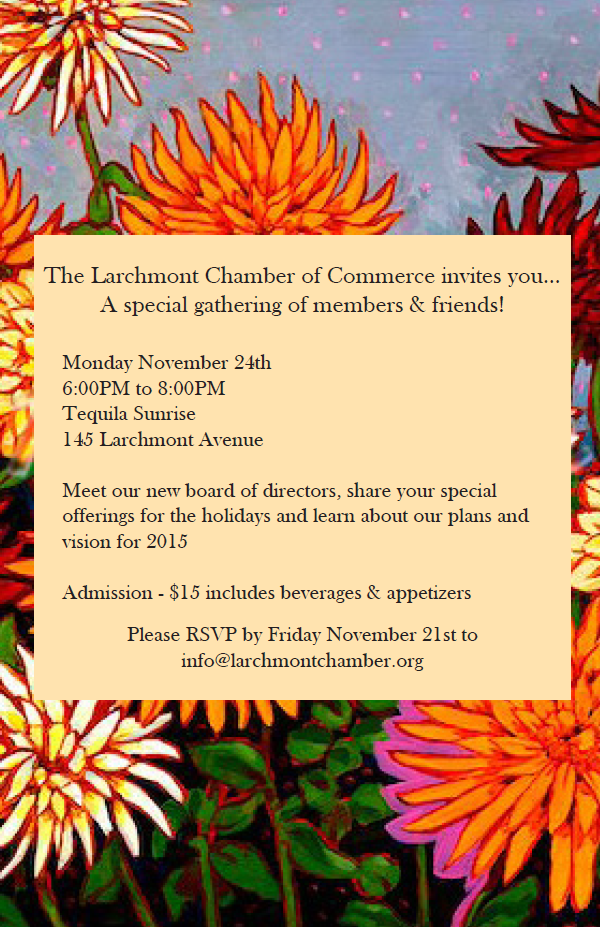 Larchmont Chamber of Commerce Open Meeting