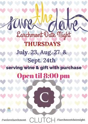 clutch date night larchmont