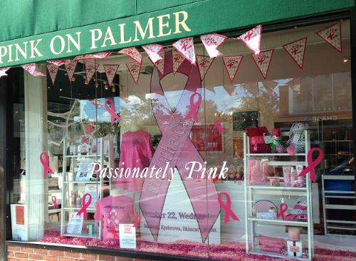 pink on palmer