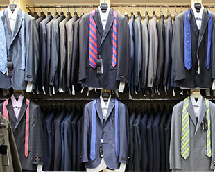Get the man in your life a new outfit for work! D'Agostino's is your one stop shop for all things mens clothing. Plus, he'll think of you every time he slips into that shirt or puts on his new jacket... What more could you ask for!