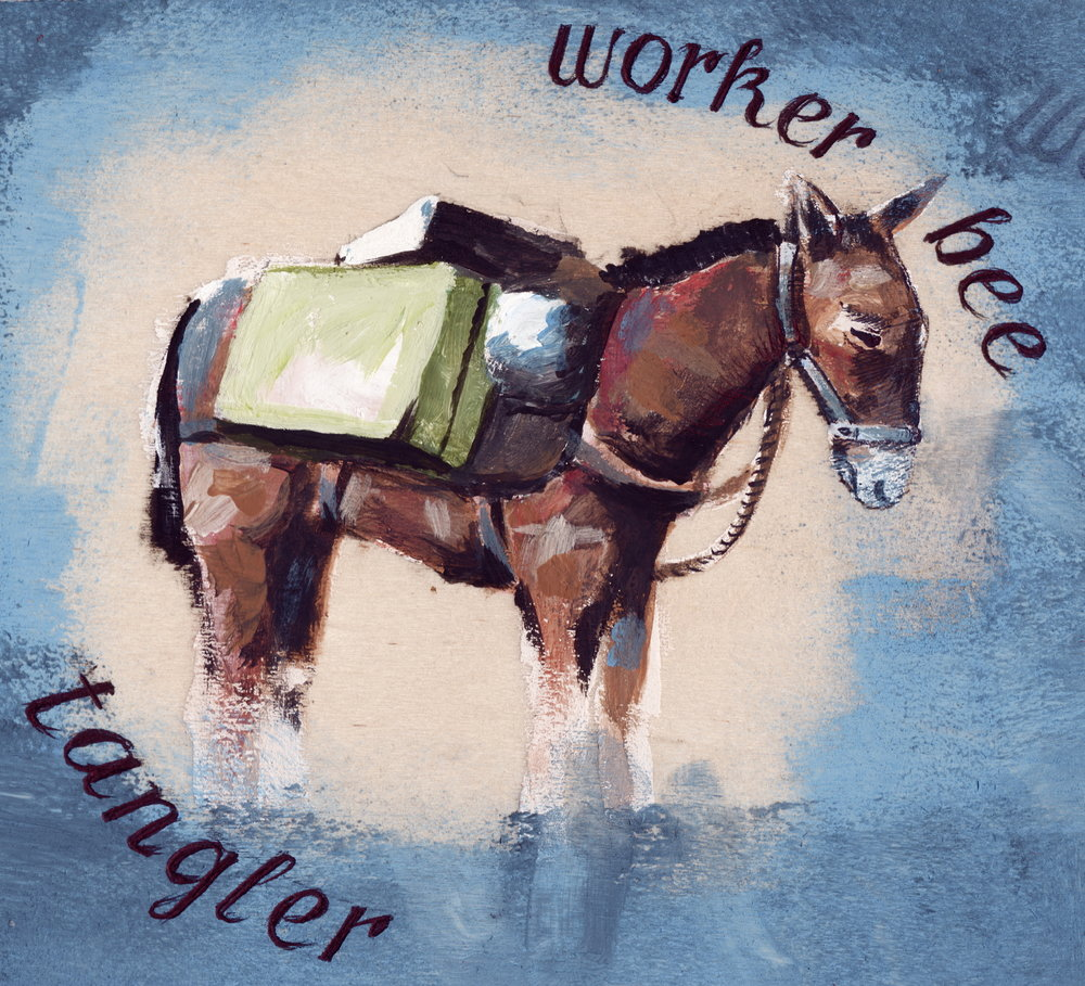 Worker Bee LP - Acrylic