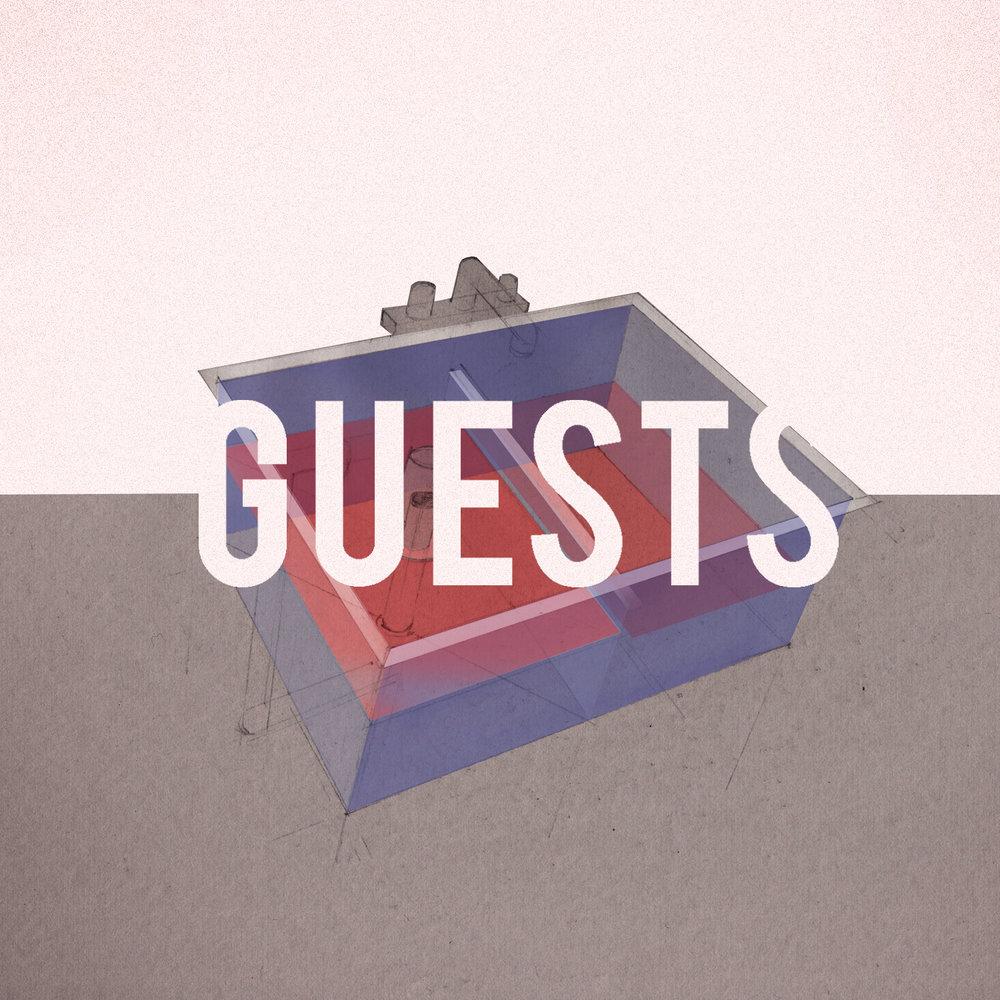 Guests Single - Acrylic / Digital