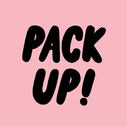 Pack Up! Logo & Branding