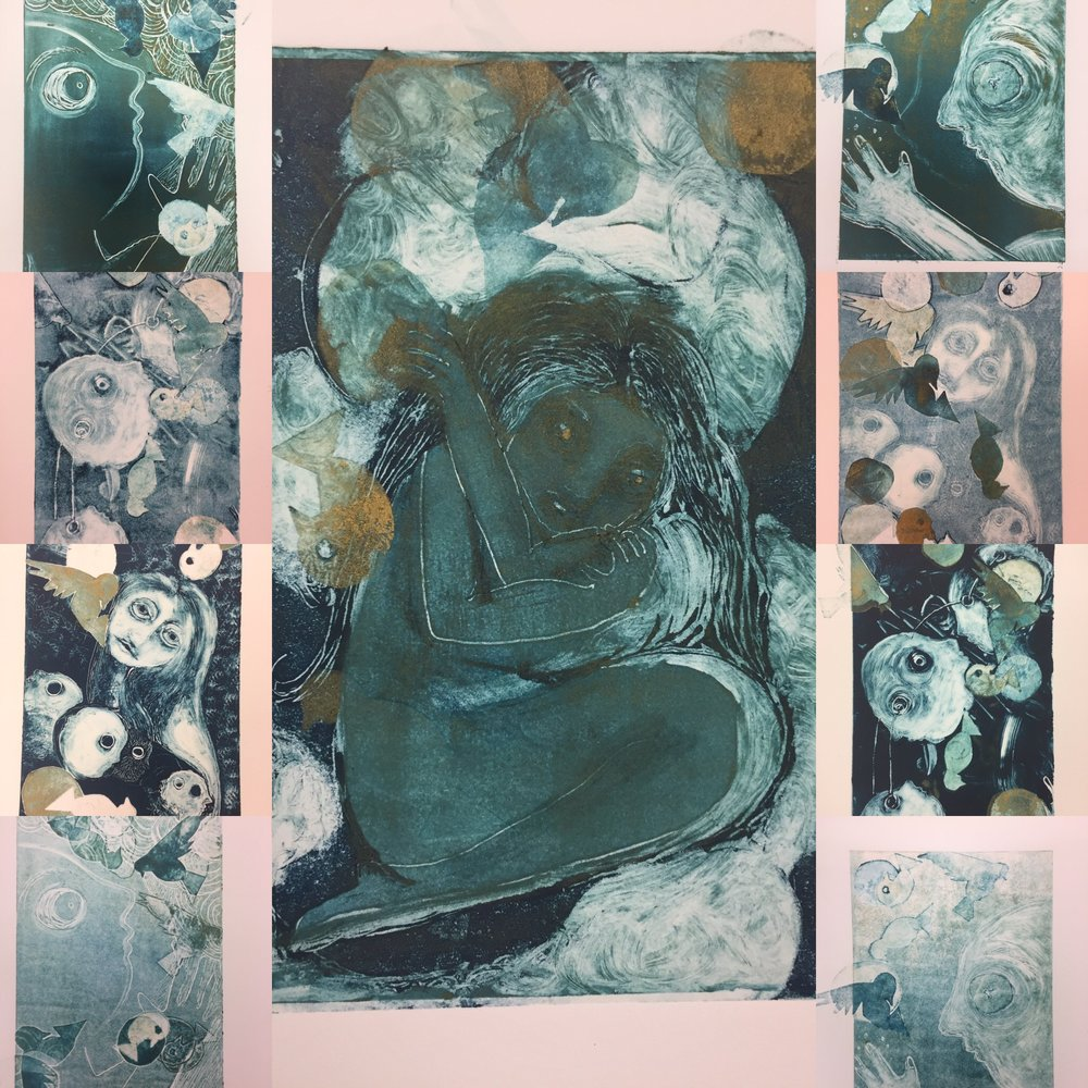 a selection of some monotypes