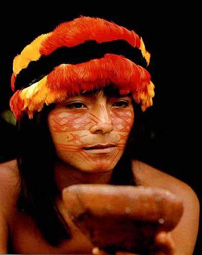 Shuar Indian