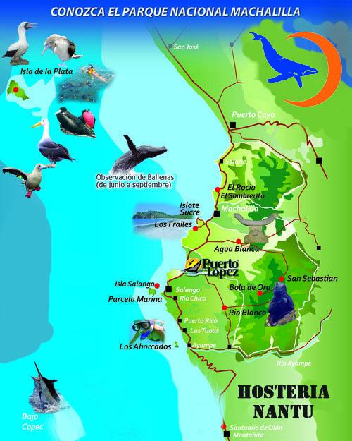 mapaParqueNacionalMachalilla