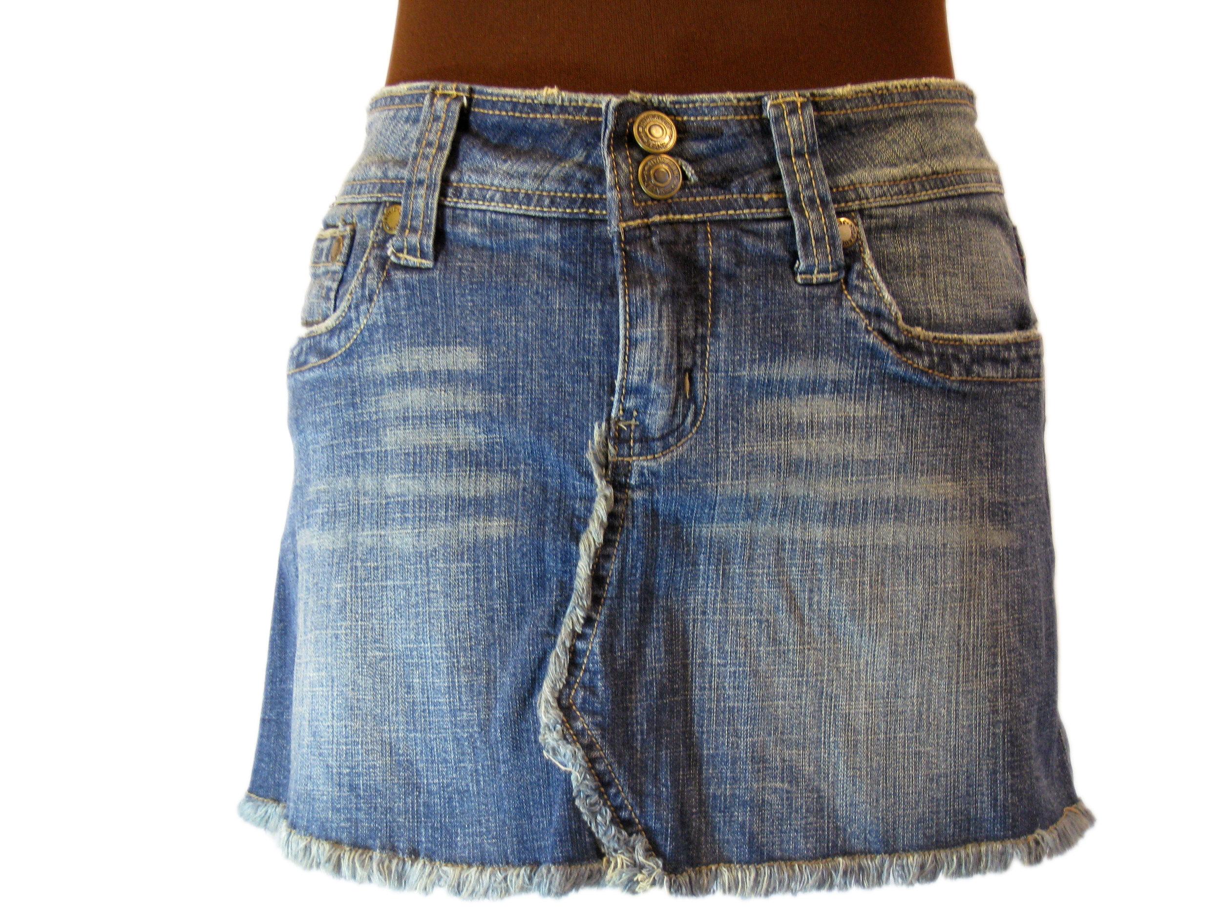 d3fa7c15a Hydraulic Denim Skirt l Size 7/8 — Second Hand Swank