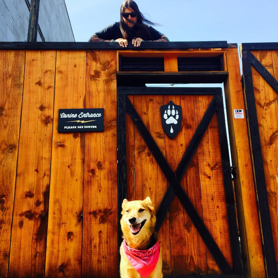 Dog-Friendly Patio Area!