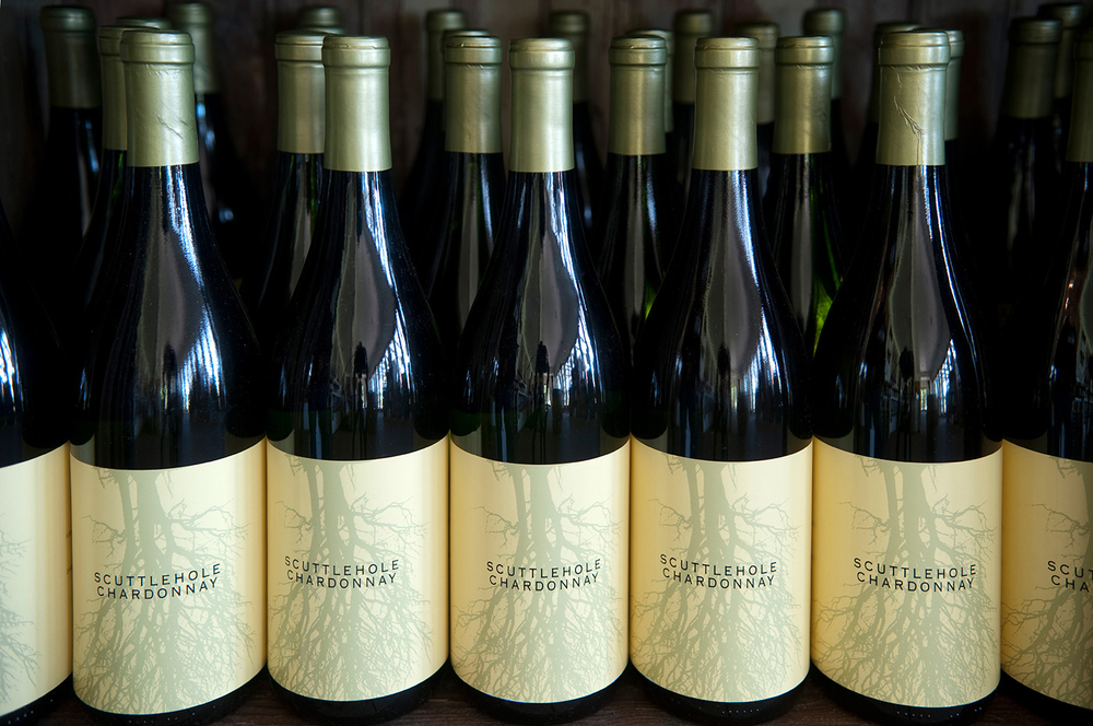 scuttlehole chardonnay white wine