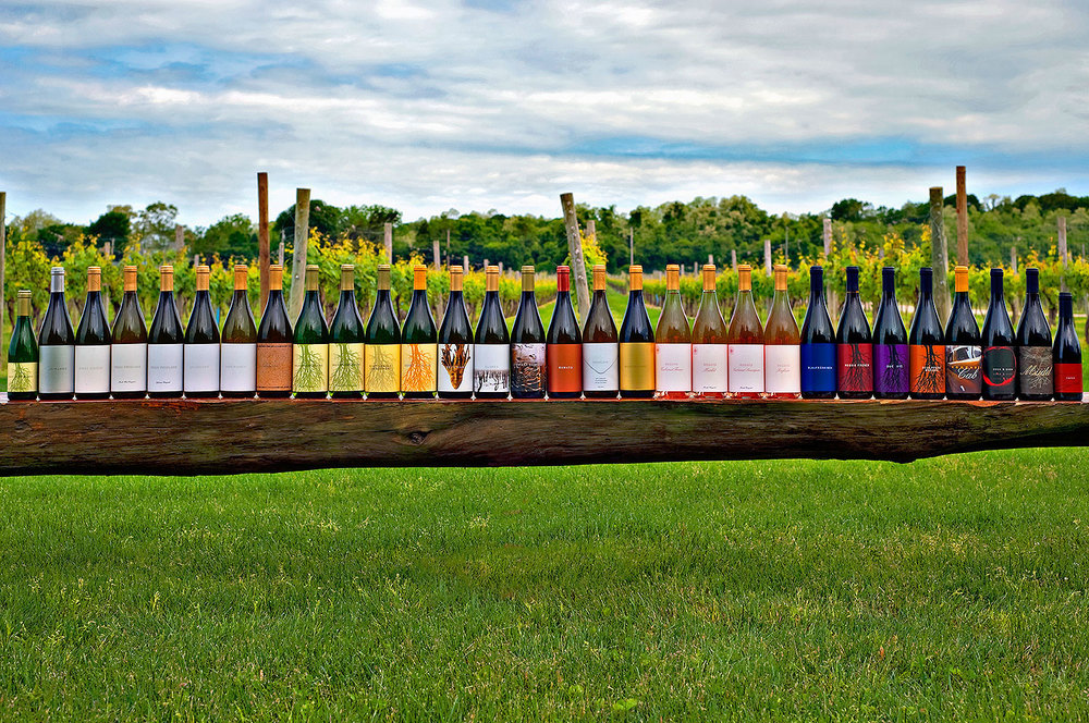 all our wines