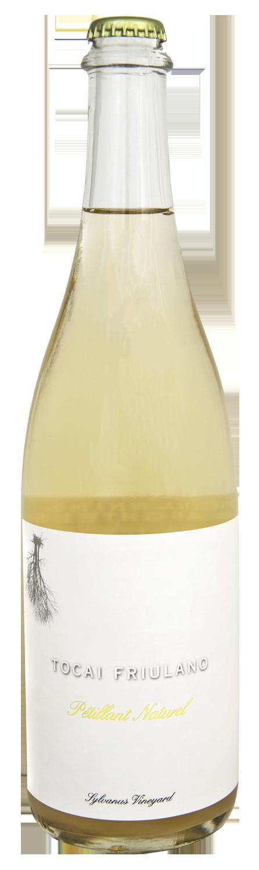 Bottle of 2018 Tocai Fruilano Petillant Naturel