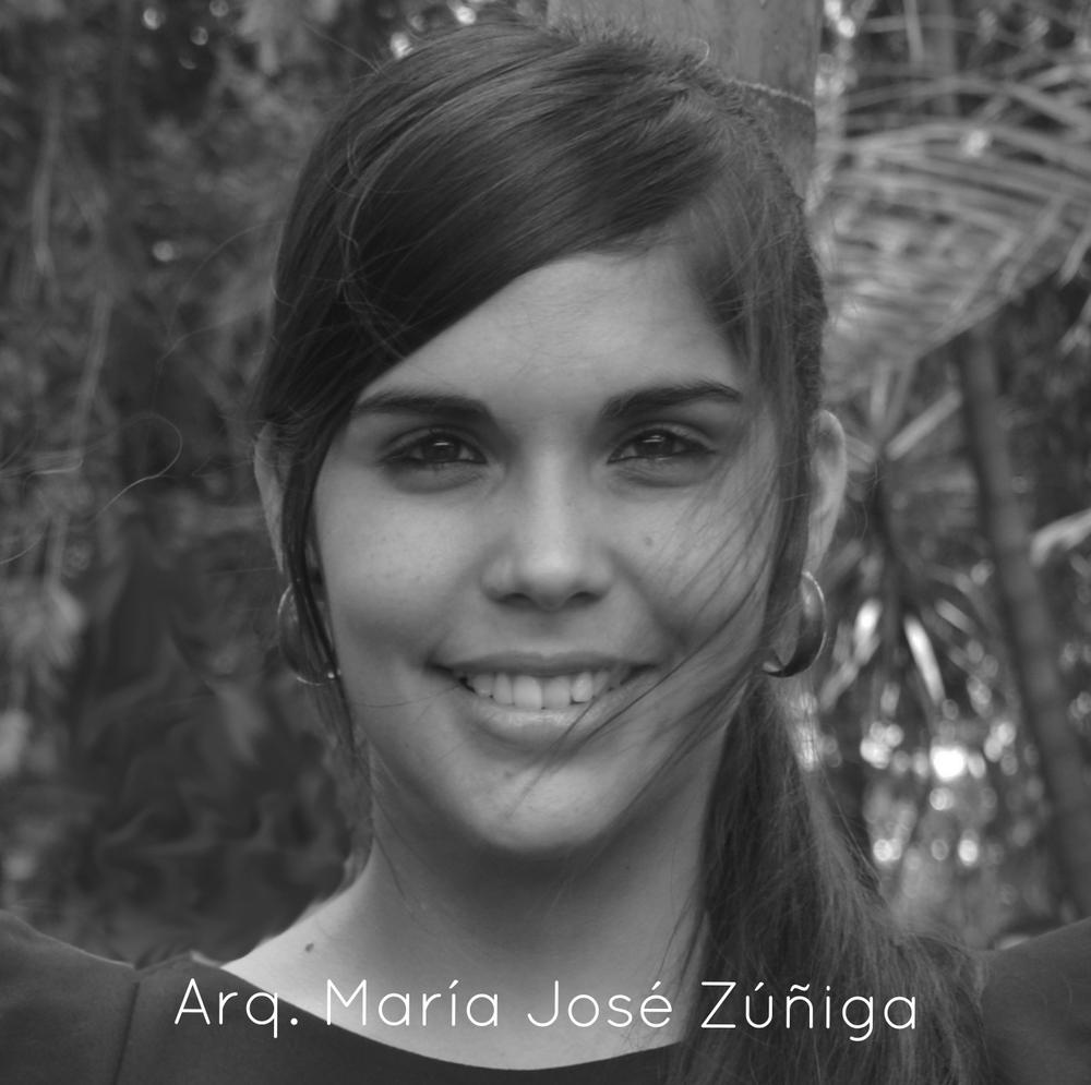 Arq. María José Zúñiga Araya