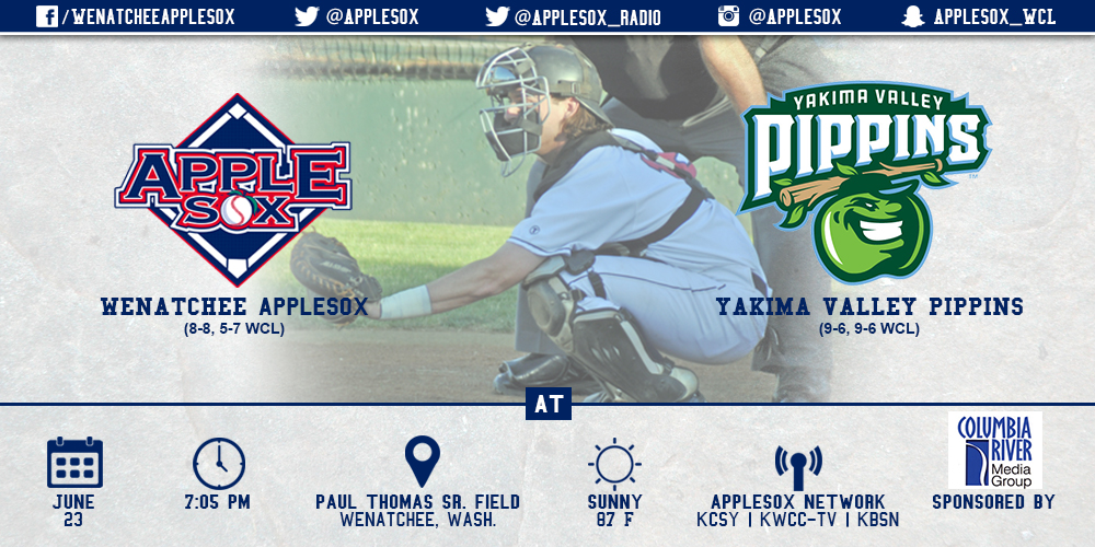 The Pippins and AppleSox finished first and second, respectively in the WCL East last season.