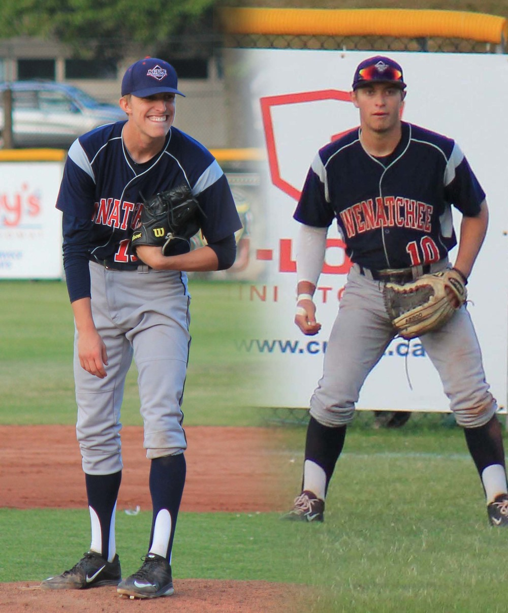 Hunter Wells and Sheldon Liikala were named to the 2015 WCL North All Star team, Monday.