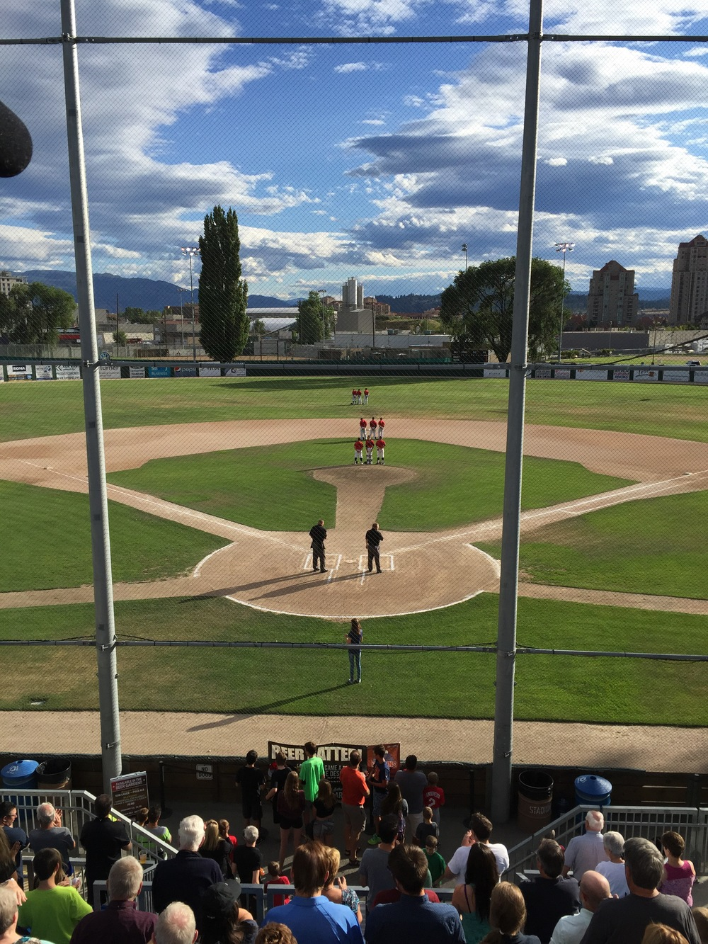 The AppleSox are going for their third win of the season at Elks Stadium, and fifth in the season series against Kelowna, Wednesday night,