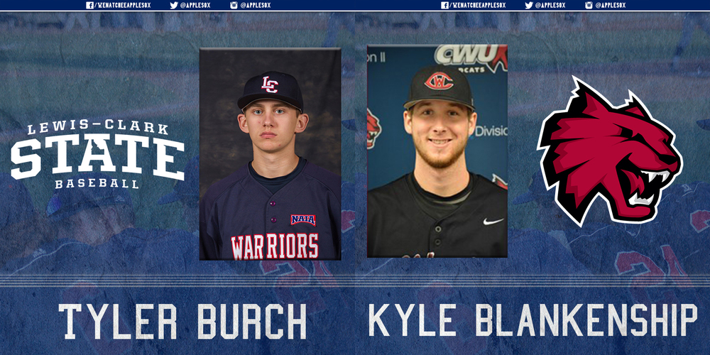 Former AppleSox pitchers Tyler Burch and Kyle Blankenship, both Wenatchee natives are set to return to the valley in 2016.
