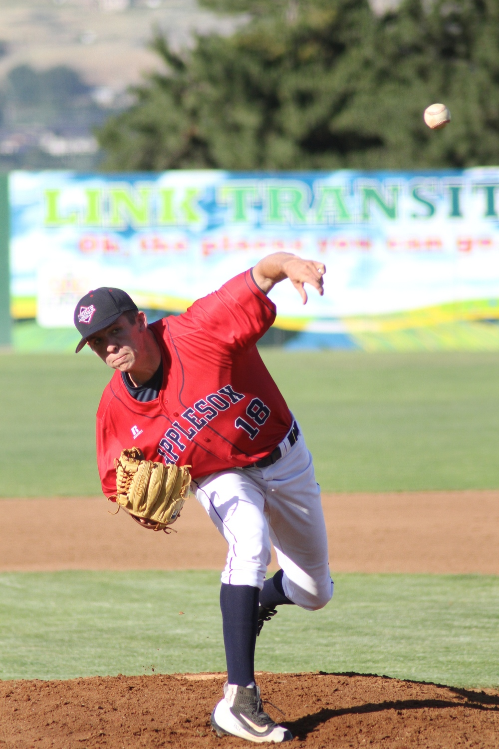 AppleSox left-hander Grady Miller (0-1), will look to get win number one, and propel the AppleSox to a series victory, Sunday. First pitch is at 6:05 p.m.