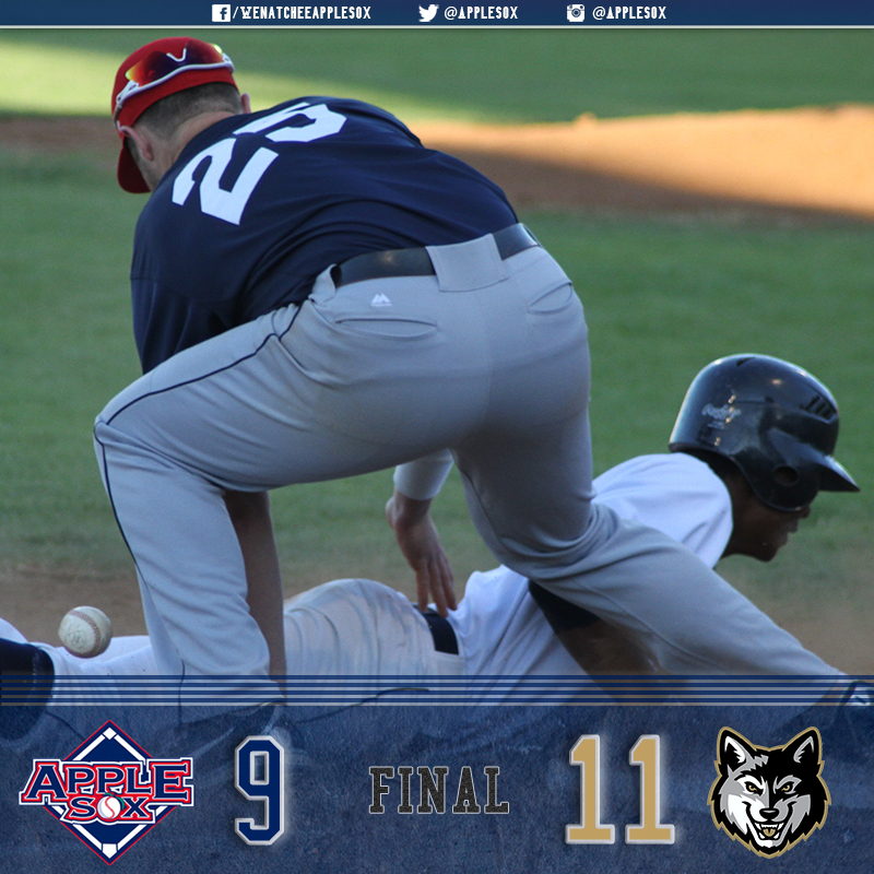 Gresham scored 11-unanswered runs Sunday to salvage a game in the three-game series.