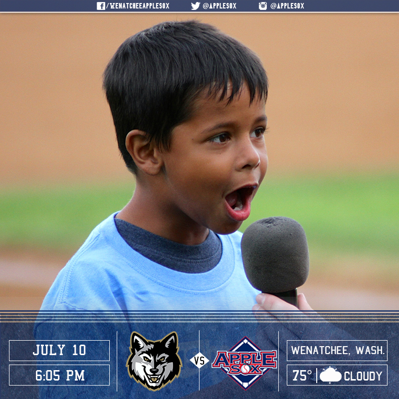 Make sure you're at Paul Thomas Sr. Stadium when the US Bank Play Ball Kid yells those magic words! 6:05 p.m. first pitch!